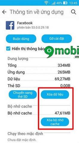 fix loi ung dung android khong chay