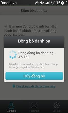dong bo sms qua oppo
