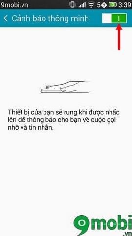 kich hoat canh bao thong minh samsung