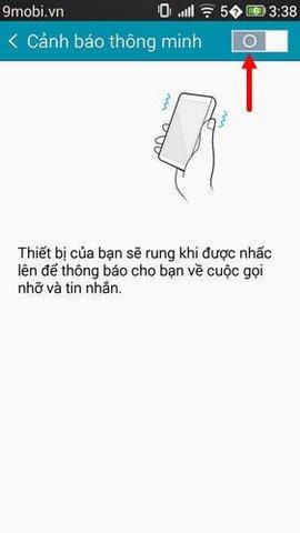 bat canh bao thong minh samsung