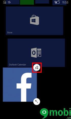 pin app lumia