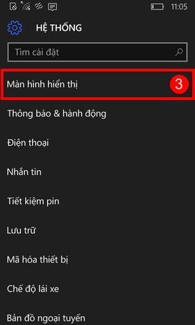 lumia bi dau cham than