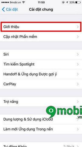 xem thong tin iphone 6