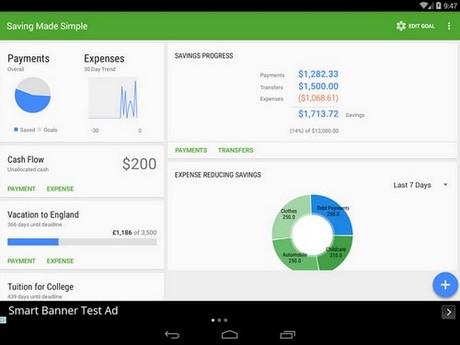 Saving Made Simple cho Android mien phi
