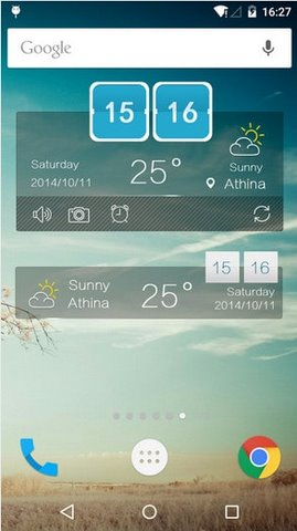 Weather Forecast cho Android mien phi