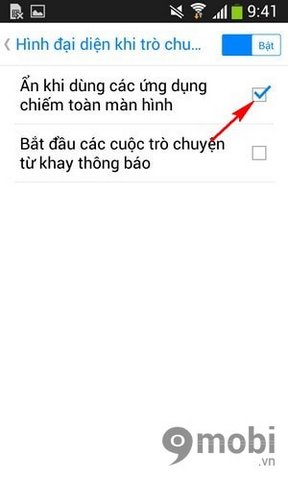 Off Facebook Messenger chat head on Android
