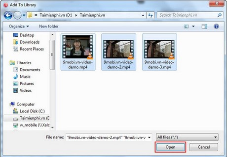 how to add movies to itunes library from computer