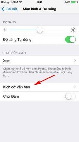 lam nho chu tren iPhone 6
