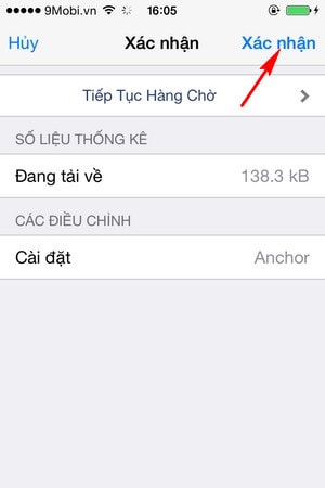 sua vi tri icon tren iPhone