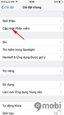 iPhone 6 bi loi siri