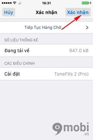 tat am thanh nhan tin iPhone