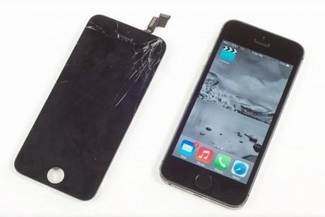 Thay mặt kính iPhone 5s, kinh nghiệm để không bị lừa