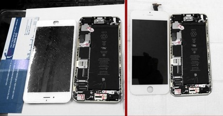 thay kinh iphone 6