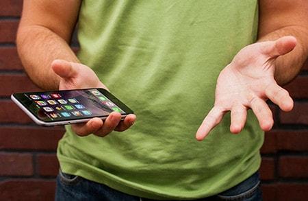 khac phuc cac loi thuong gap tren iPhone 6 plus, 6, ip 5s, 5