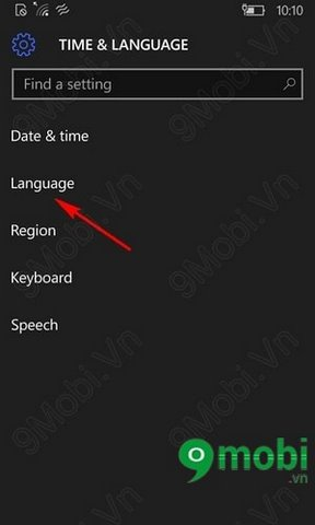 windows 10 how to change interface language
