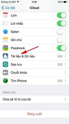 khac phuc loi ban phim giat tren iPhone