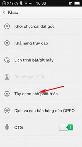 khong co che do go loi USB tren Oppo