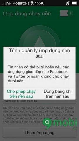 https://9mobi.vn/thiet-lap-ung-dung-chay-nen-tren-dien-thoai-oppo-2935n.aspx.  Bạn nên lưu ý rằng nếu không cho phép các ứng dụng như Facebook hay  Messenger ...