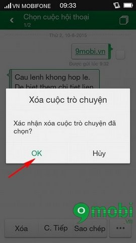 how to delete sms messages