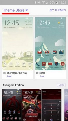 add themes S6