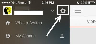 xoa video offline youtube tren iphone