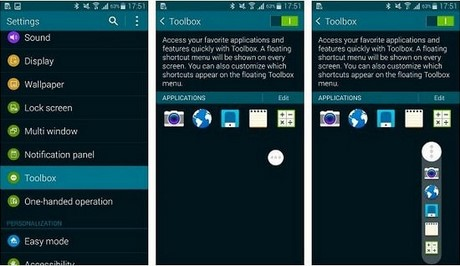 kích hoạt chế độ tiết kiệm pin điện thoại Galaxy S5