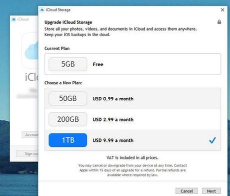 Thủ thuật sử dụng Apple iCloud trên Windows nhanh và an toàn