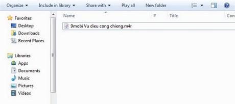 tao nhac chuong cho iphone