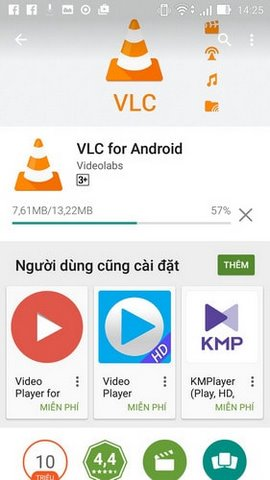 cai dat vlc android
