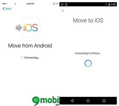 chuyen du lieu android sang ios bang move to ios