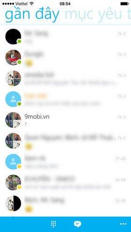 dang nhap skype tren iphone