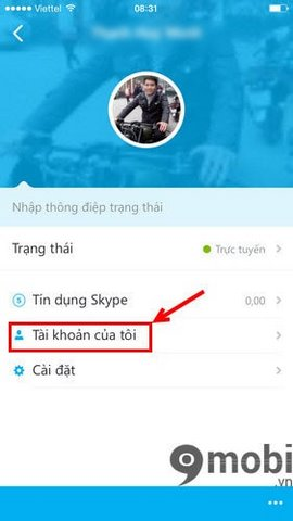 thay pass skype iphone