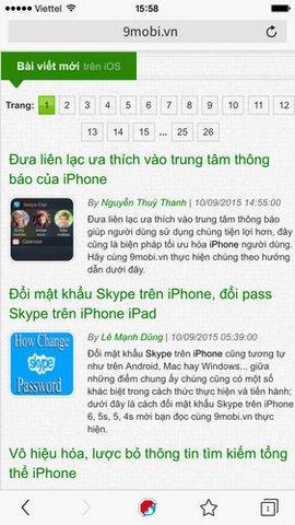 duyet web tren iphone khong co quang cao