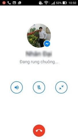 goi dien facebook tren samsung