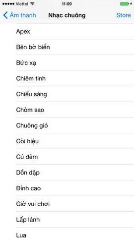 nhac chuong iphone