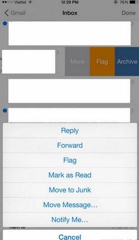 cach su dung mail nhanh tren iphone ipad