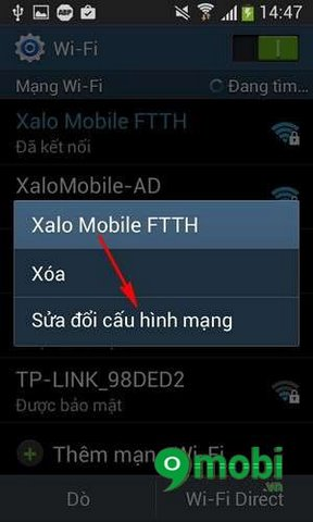 chan quang cao chrome cho android
