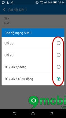 chuyen mang 2g thanh 3g cho htc