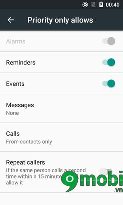 kich hoat Do not Disturb tren android 6.0