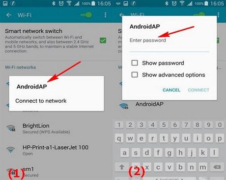 phat wifi Samsung