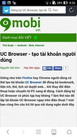 tang toc uc browser