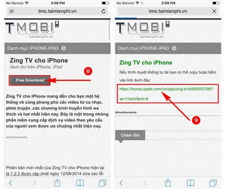 zing tv cho android