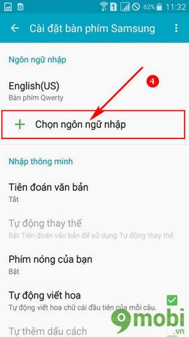 go tieng viet Android
