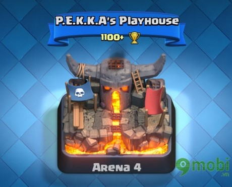cac arena trong clash royale