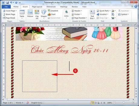 lam bao tuong tren word chuyen nghiep