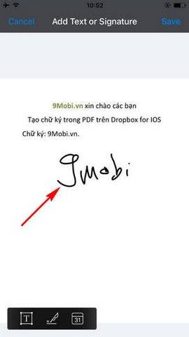 dropbox cho iphone