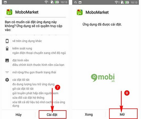 mobomarket cho android