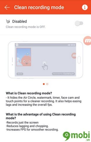 Mobizen Screen Recorder cho android