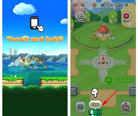 super mario run cho iphone