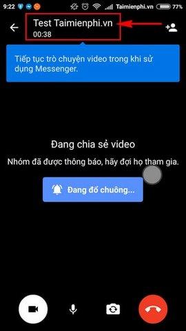 video call group Facebook Messenger